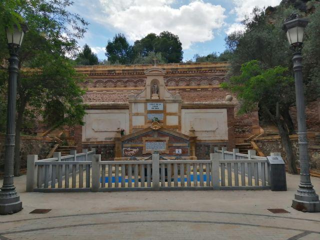 Denuncia el estado en el que se encuentra la fuente del Santuario de la Virgen de la Fuensanta - 1, Foto 1