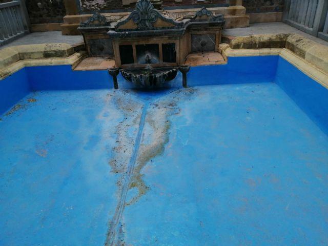 Denuncia el estado en el que se encuentra la fuente del Santuario de la Virgen de la Fuensanta - 3, Foto 3