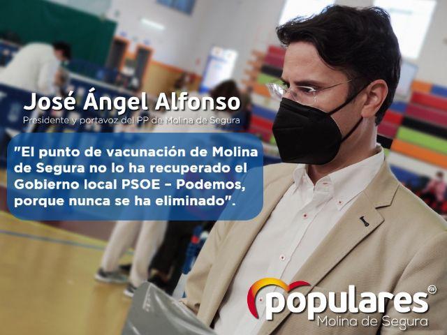 El punto de vacunación de Molina de Segura no lo ha recuperado el Gobierno local PSOE – Podemos, porque nunca se ha eliminado - 1, Foto 1