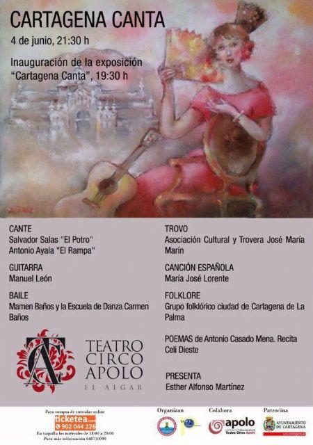 El festival folclórico Cartagena Canta arrancará el próximo sábado en El Algar - 1, Foto 1