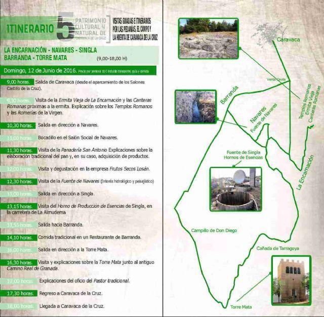 Turismo clausura la tercera edición de los itinerarios guiados a las pedanías y campo de Caravaca - 3, Foto 3