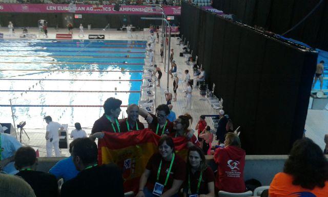 El Club Natación Ciudad de Murcia hace historia en el Campeonato de Europa de natación máster de Londres - 3, Foto 3