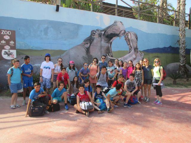 El colegio ganador del concurso Medioambientados disfruta de su premio en Terra Natura - 1, Foto 1