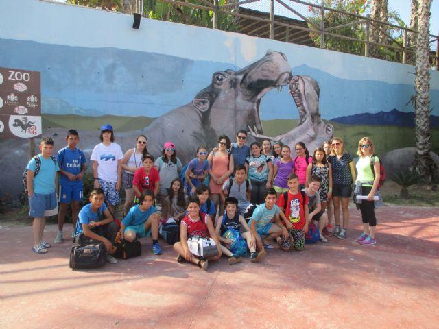 El colegio ganador del concurso Medioambientados disfruta de su premio en Terra Natura - 2, Foto 2