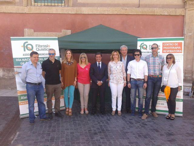 El Ayuntamiento de Murcia participa en el puzzle solidario con motivo del Día Internacional del Donante de Órganos y Tejidos - 1, Foto 1