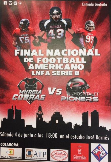 Murcia y L´Hospitalet disputan la final de la Liga Nacional de Fútbol Americano el próximo sábado - 2, Foto 2