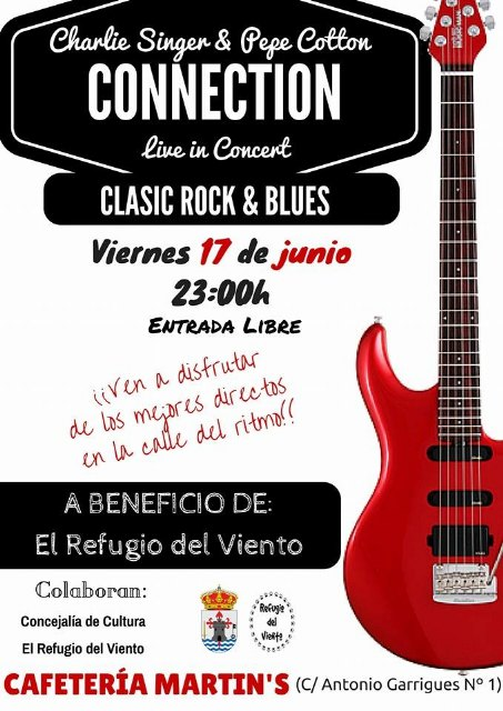 Cafetería Martin´s organiza varios conciertos a beneficio de El Refugio del Viento, Foto 1