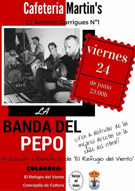 Cafetería Martin´s organiza varios conciertos a beneficio de El Refugio del Viento, Foto 2
