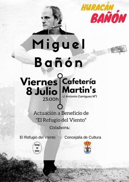 Cafetería Martin´s organiza varios conciertos a beneficio de El Refugio del Viento, Foto 4