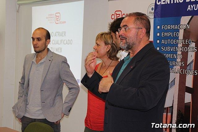 """Unas 75 personas han participado en el taller """"Cómo atraer tráfico cualificado a tu web"""", Foto 2"""