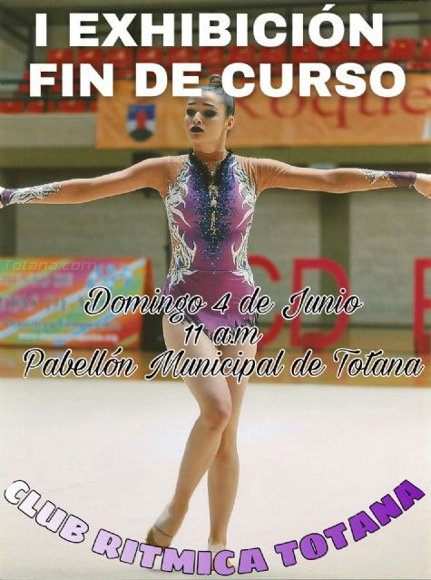 La I exhibición fin de curso del Club Rítmica Totana tendrá lugar el próximo domingo, Foto 1
