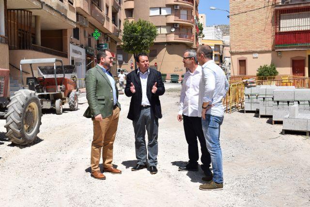 La Comunidad financia obras de mejora en tres calles de Mula - 1, Foto 1
