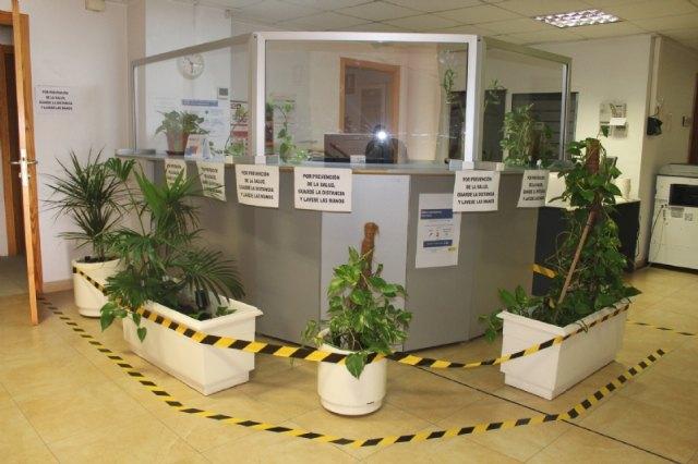 El Centro de Servicios Sociales de Atención Primaria adapta, desde esta semana, su sistema de atención al público a las nuevas condiciones de riesgo sanitario