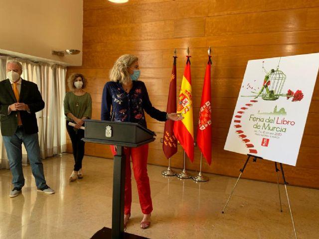 La catedral de Murcia y el clavel rojo serán la imagen de la III Feria del Libro - 1, Foto 1