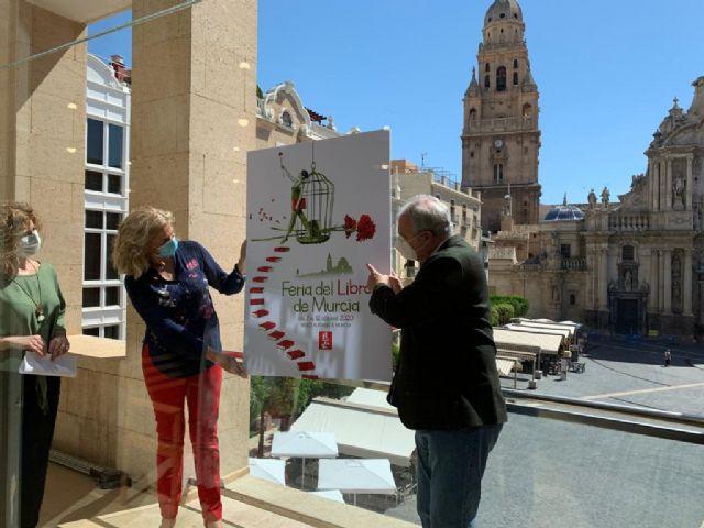 La catedral de Murcia y el clavel rojo serán la imagen de la III Feria del Libro - 3, Foto 3