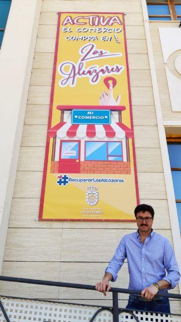 El Ayuntamiento de Los Alcázares lanza una campaña de concienciación para el consumo en el comercio local - 1, Foto 1