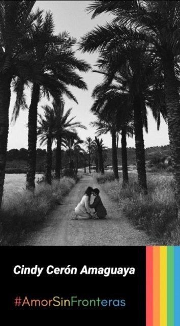 Cindy Cerón, Juan Francisco Martínez and Andrea Martínez are the winners of the #AmorSinFronteras Photography Contest