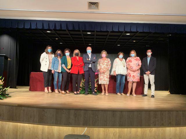 La Asociación de Amas de Casa rinde homenaje a los enfermeros aguileños - 4, Foto 4