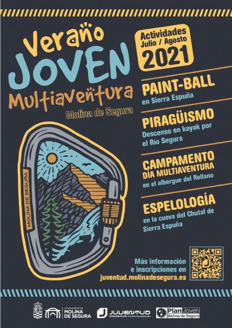 La Concejalía de Juventud de Molina de Segura presenta su programa de verano LUNA JOVEN 2021 - 2, Foto 2