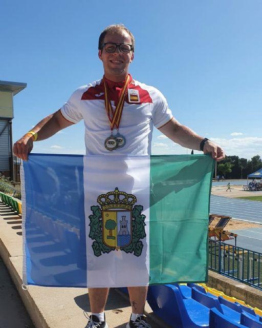Daniel Tárraga y Raúl Martínez, de plata y bronce en el Nacional de Atletismo FEDDI - 2, Foto 2