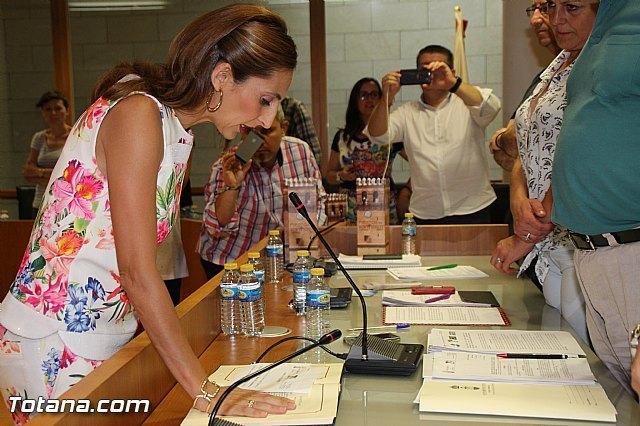 Maribel Rubio de la Peña toma posesión como concejala del Ayuntamiento de Totana por el Grupo Municipal Popular, Foto 1