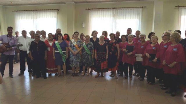 Los Talleres del Coro y Bailes de Salón de los Hogares de Pensionista, despiden curso - 1, Foto 1