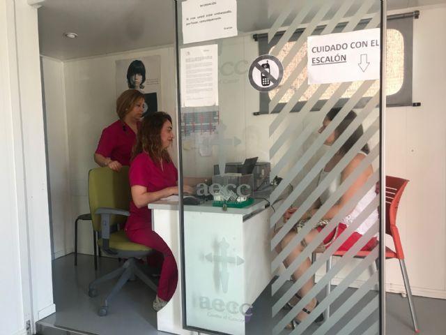 La AECC hace mamografías gratuitas en Torre Pacheco - 1, Foto 1