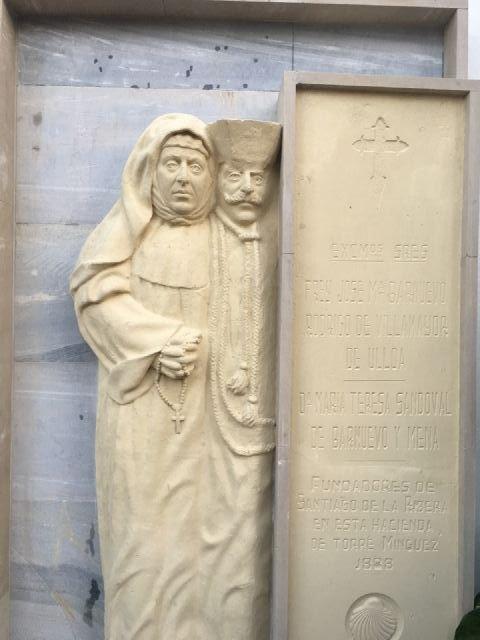 El Ayuntamiento restaura y exhibe el mausoleo original del matrimonio fundador de la Santiago de la Ribera en la fachada de la iglesia - 2, Foto 2