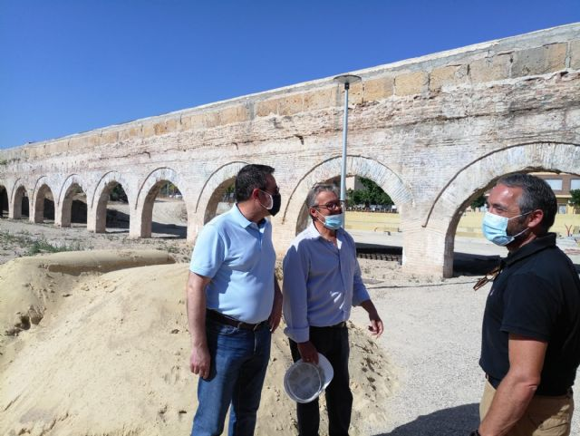 Cultura destina casi 100.000 euros a restaurar el Acueducto de los Arcos de Alcantarilla - 1, Foto 1
