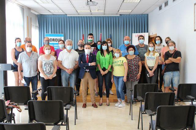 El Ayuntamiento de Lorquí presenta el programa mixto de empleo y formación Recuperación cabezos de Lorquí III - 1, Foto 1