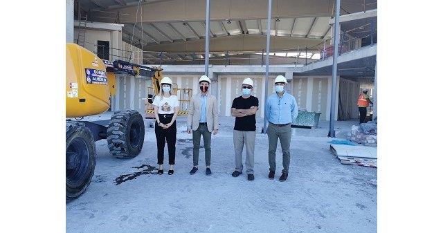 El Director General de Deportes comprueba, de primera mano, el estado de las instalaciones deportivas de Cehegín - 1, Foto 1