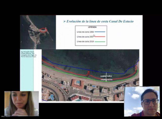 Un estudio cuantifica en casi 45 metros la regresión de la playa de la Ensenada del Esparto desde la construcción de Puerto Mayor - 2, Foto 2