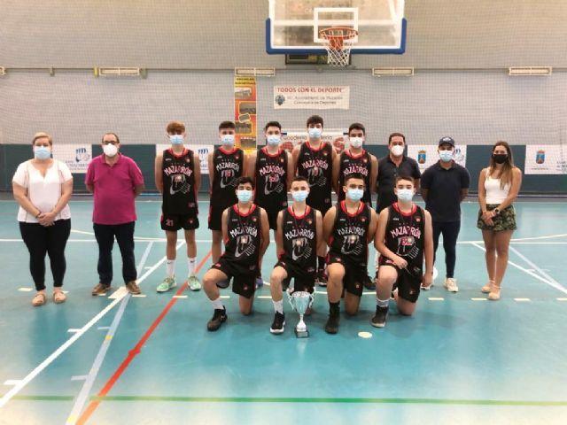 Entrega trofeos y medallas equipos Mazarrón Basket, Foto 1