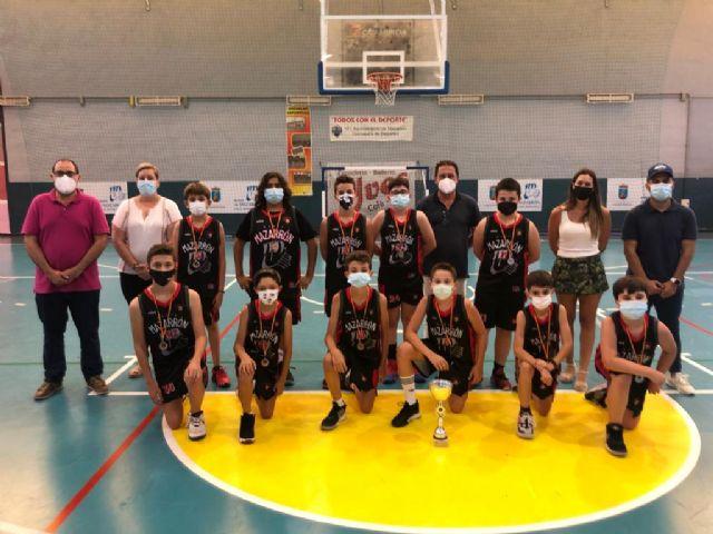 Entrega trofeos y medallas equipos Mazarrón Basket, Foto 2