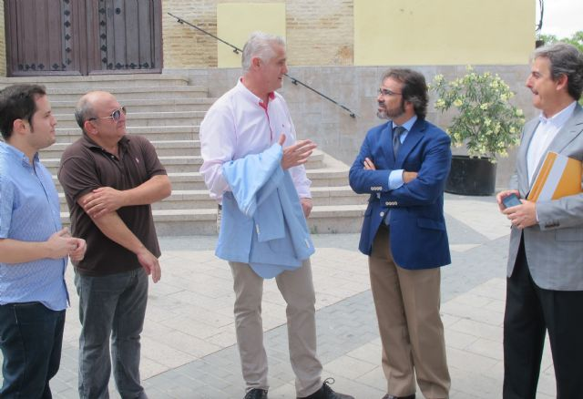La Consejería de Fomento y el Ayuntamiento de Albudeite colaborarán en la mejora de las carreteras regionales que atraviesan el municipio - 1, Foto 1