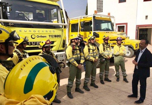 La Comunidad refuerza los medios de las brigadas forestales con ocho nuevos vehículos, Foto 1