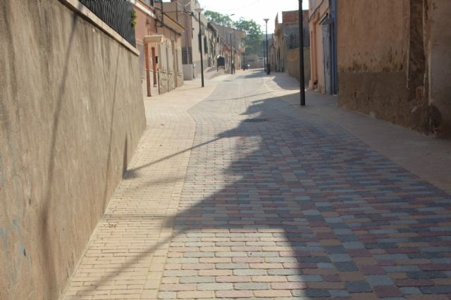 La reforma de la calle Parricas llega a su recta final tras cinco meses en obras, Foto 1