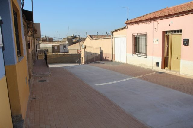La reforma de la calle Parricas llega a su recta final tras cinco meses en obras, Foto 2