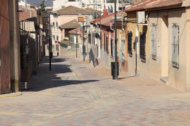 La reforma de la calle Parricas llega a su recta final tras cinco meses en obras, Foto 3