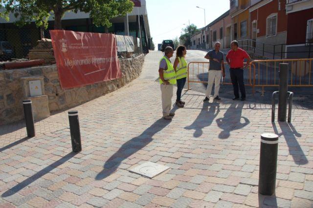 La reforma de la calle Parricas llega a su recta final tras cinco meses en obras, Foto 4