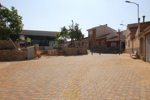 La reforma de la calle Parricas llega a su recta final tras cinco meses en obras, Foto 5