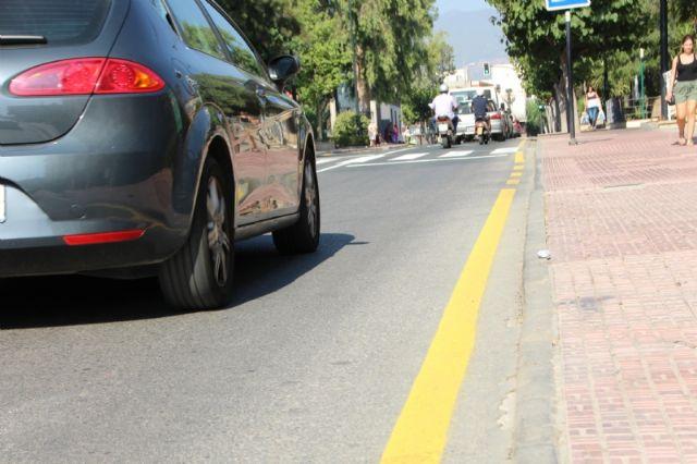 Repintado de marcas viales en varias calles del municipio, Foto 5