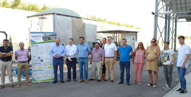 La depuradora de Alguazas proporciona a los regantes de la zona más de 1,2 hectómetros cúbicos de agua regenerada - 1, Foto 1