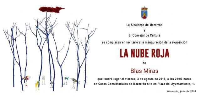 Blas Miras expondrá en Casas Consistoriales hasta el 15 de septiembre, Foto 2