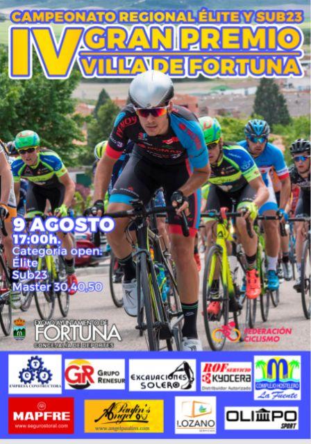 Presentada la tradicional prueba ciclista de las Fiestas de Fortuna ´Gran Premio Villa de Fortuna´ - 1, Foto 1