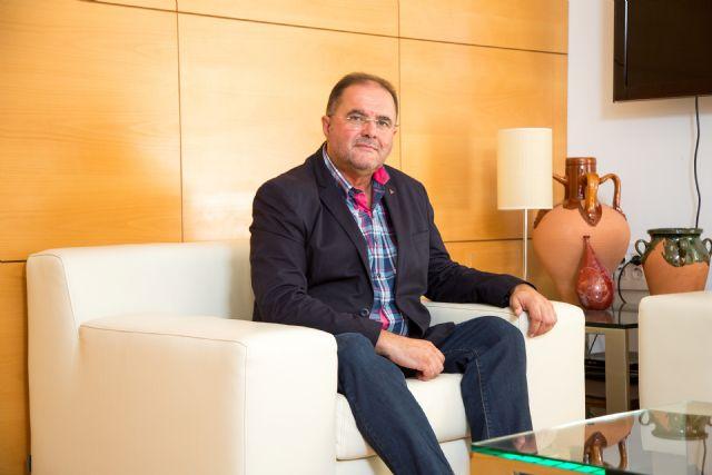 El alcalde de Totana solicita una primera reunión institucional con el nuevo presidente de la Comunidad Autónoma, Fernando López Miras, para abordar la hoja de ruta de esta legislatura