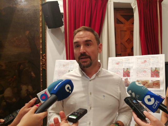 El alcalde de Lorca recibe a más de 300 vecinos, asociaciones y colectivos en apenas 50 días desde su investidura el 15 de junio - 1, Foto 1