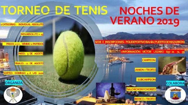 Entregados los trofeos del campeonato de tenis dobles  'noches de verano 2019' - 1, Foto 1