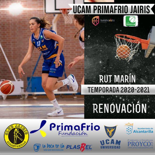 Ester Aracil y Rut Marín renuevan con el UCAM Primafrio Jairis de LF2 - 1, Foto 1
