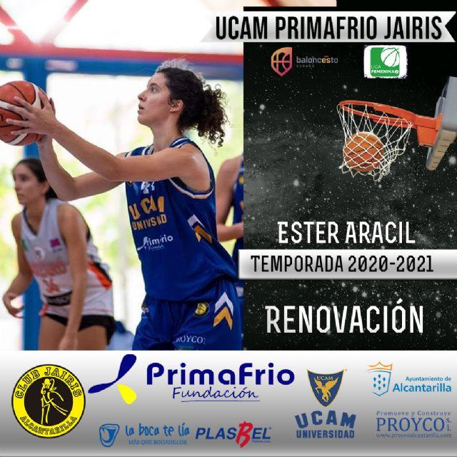 Ester Aracil y Rut Marín renuevan con el UCAM Primafrio Jairis de LF2 - 2, Foto 2